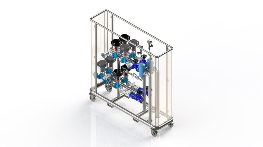 Full-Range-Membrane-Unit